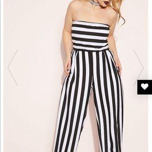Rebdoll Black & White Jumpsuit
